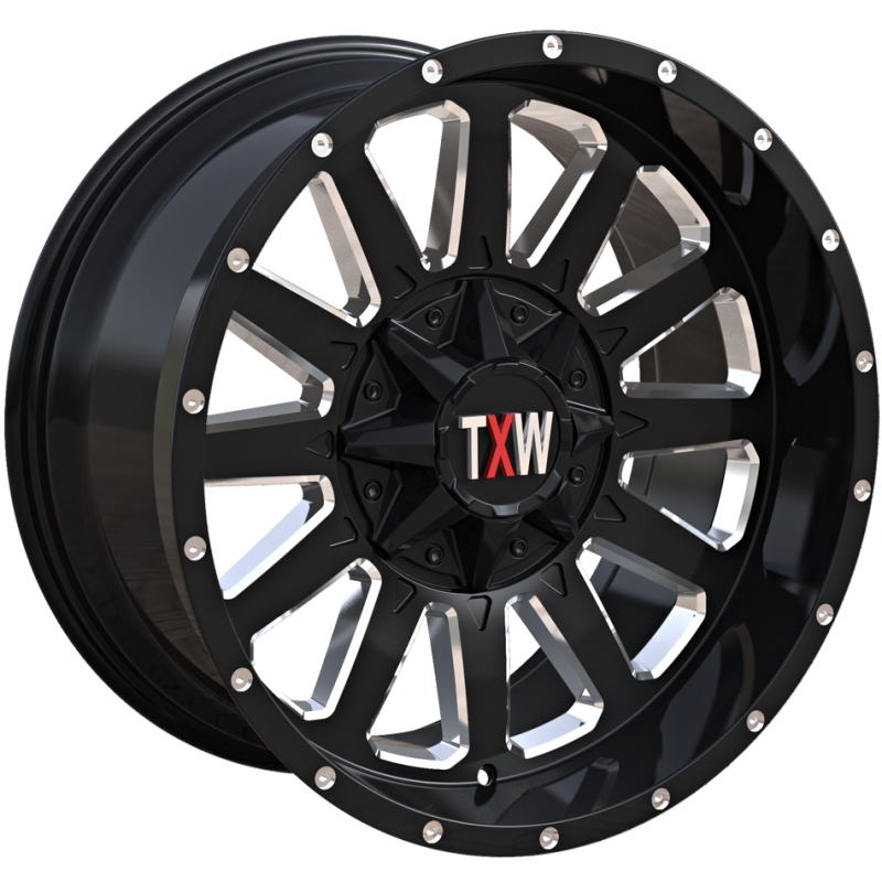 TXW T-0.05 Black with Milled Windows