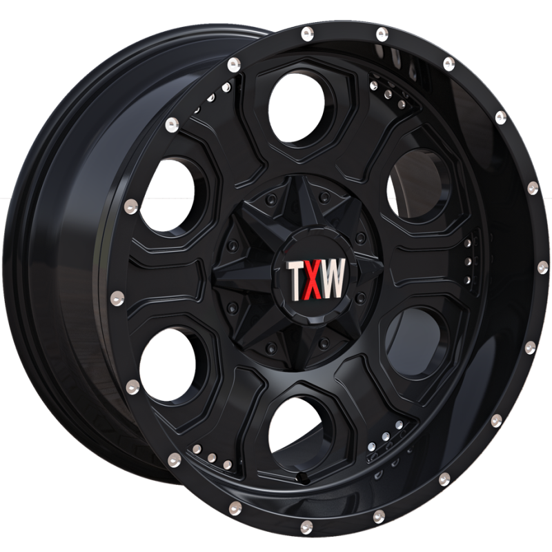 TXW T-0.06 Matte Black Wheels