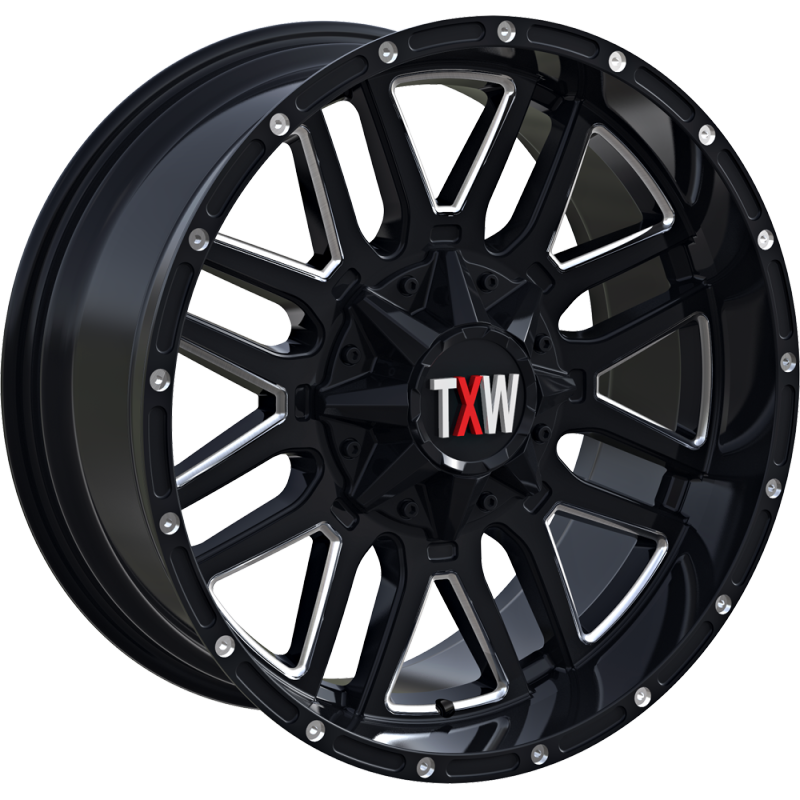 TXW T-0.07 Matte Black with Milled Windows Style A