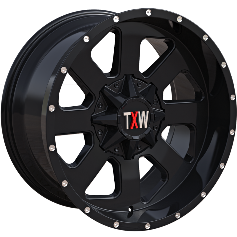 TXW T-0.08 Matte Black Wheels