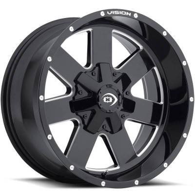 Vision 411 Arc Gloss Black Milled