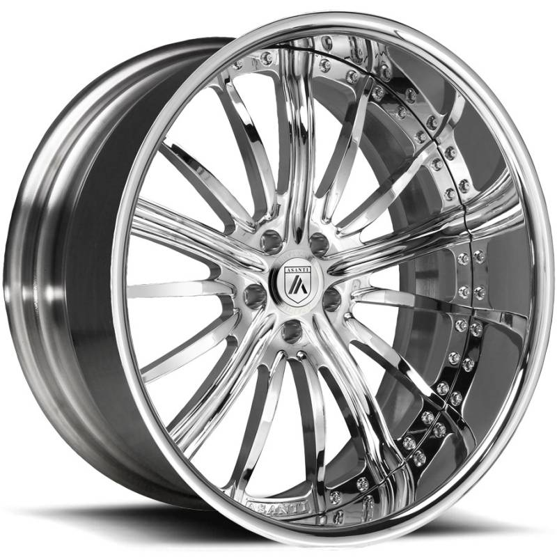 Asanti AF-175 Chrome Wheels