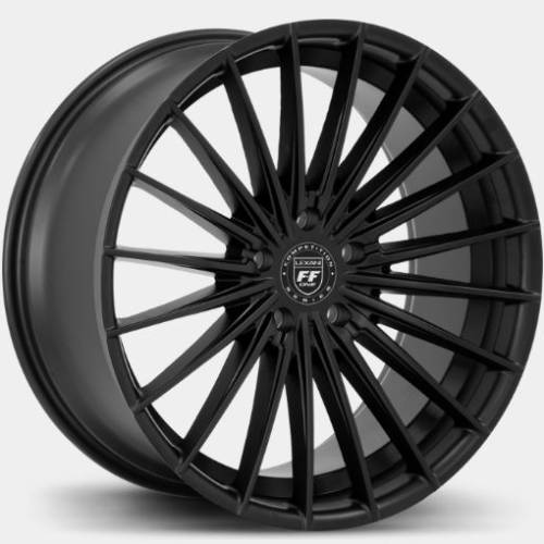 Lexani FF-One Series Ressa Flat Black Wheels