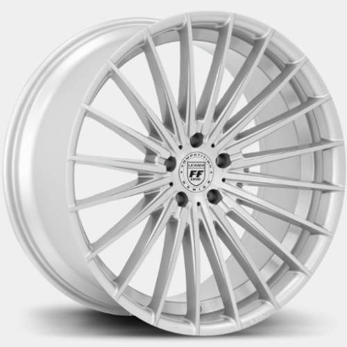 Lexani FF-One Series Ressa Silver Wheels