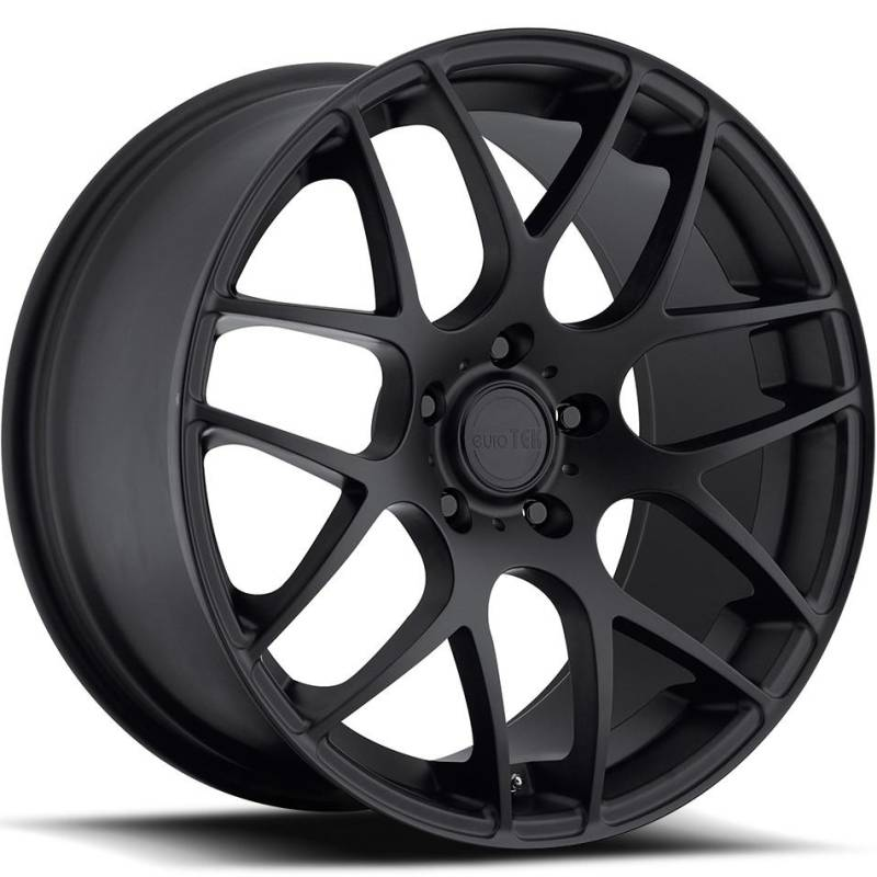 MRR Design U02 Matte Black Wheels