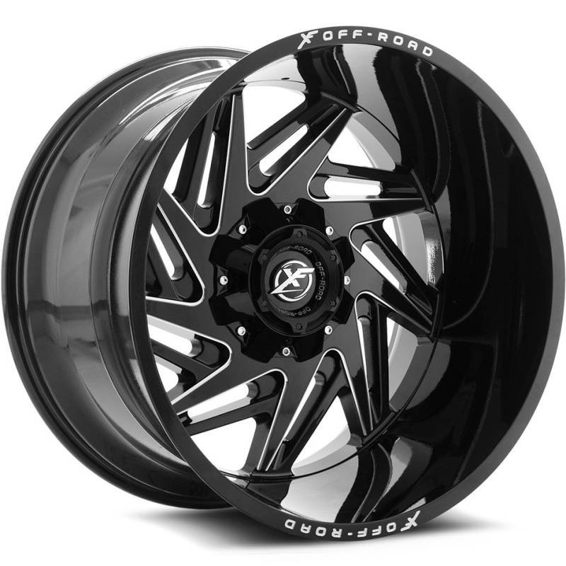 XF Off-Road 203 Gloss Black Milled