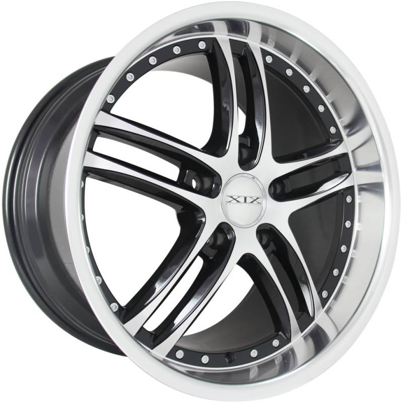 XIX X-15 Machine Black Wheels