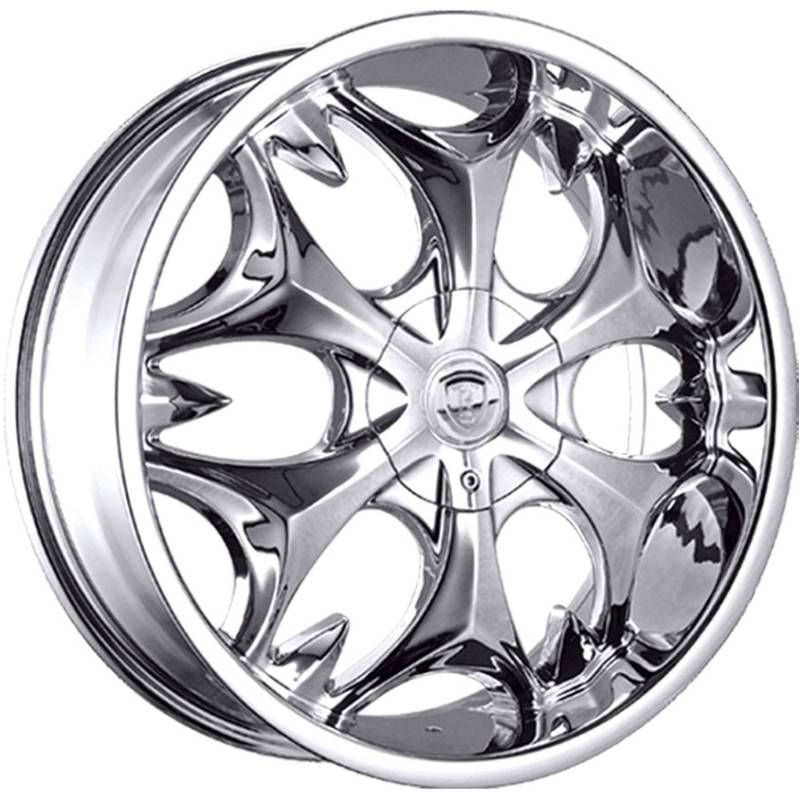 Borghini BW3S-C Chrome Wheels