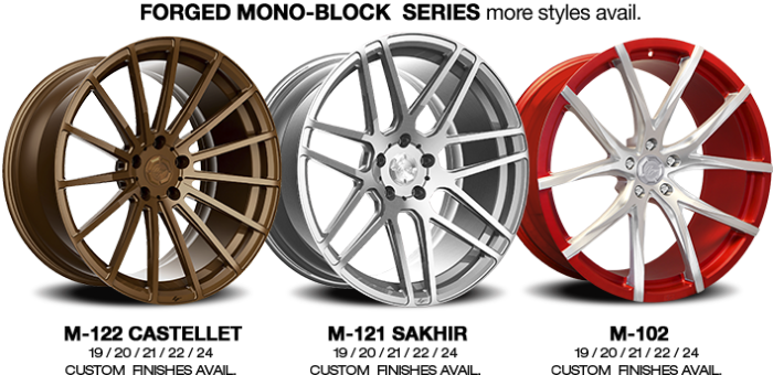 Lexani Forged Mono-Block Series Wheels