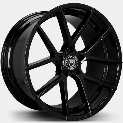 Lexani Stuttgart Full Black Wheels