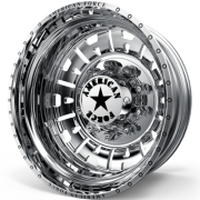 American Force G12 Attack Rear Dually Wheels