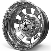 American Force Bolt Rear Dually Wheels