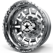 American Force G13 Bully Rear Dually Wheels