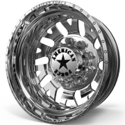 American Force D07 Camber Rear Dually Wheels