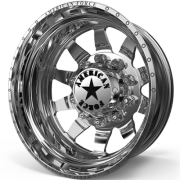 American Force Independence Rear Dually Wheels