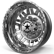 American Force Liberty Rear Dually Wheels