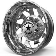 American Force D04 Man O War Rear Dually Wheels