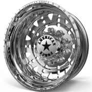 American Force F03 Ricochet Rear Dually Wheels