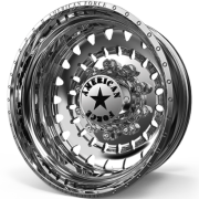 American Force F06 Riot Rear Dually Wheels