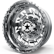 American Force G14 Sideways Rear Dually Wheels
