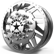 American Force H02 Siege Front Dually Wheels