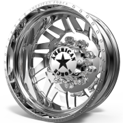 American Force H02 Siege Rear Dually Wheels