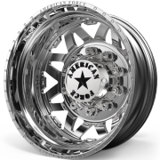 American Force 52 Stars Rear Dually Wheels