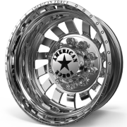 American Force D03 Zink Rear Dually Wheels
