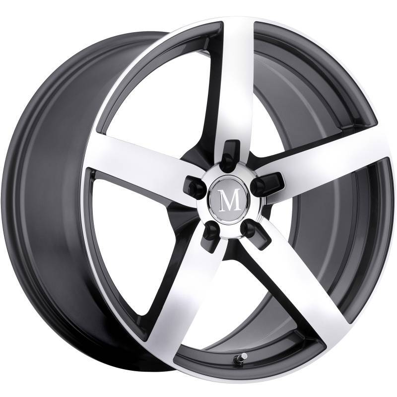 Mandrus Arrow Machine Gunmetal Wheels