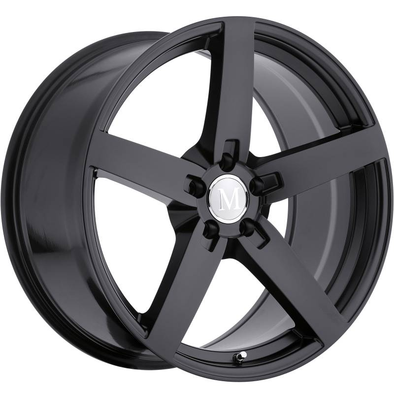 Mandrus Arrow Matte Black Wheels