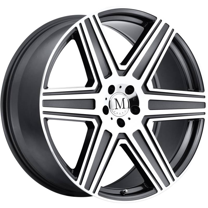 Mandrus Atlas Gunmetal Wheels