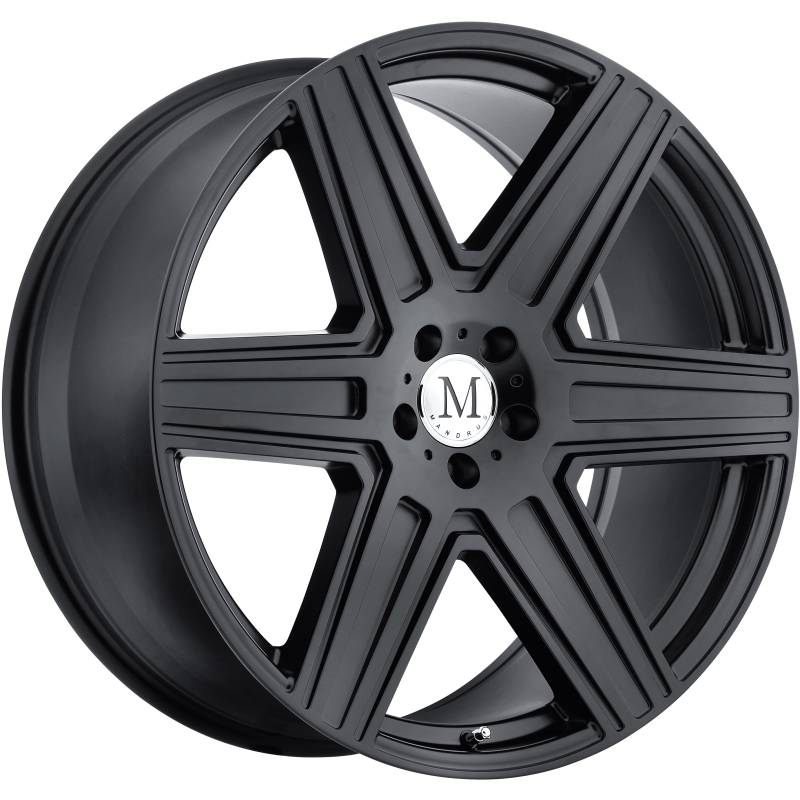 Mandrus Atlas Matte Black Wheels
