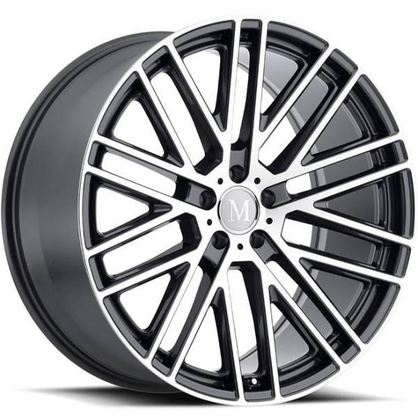 Mandrus Masche Gunmetal Machined Wheels