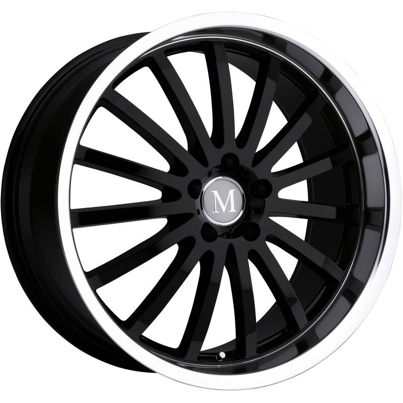 Mandrus Millennium Gloss Black Wheels