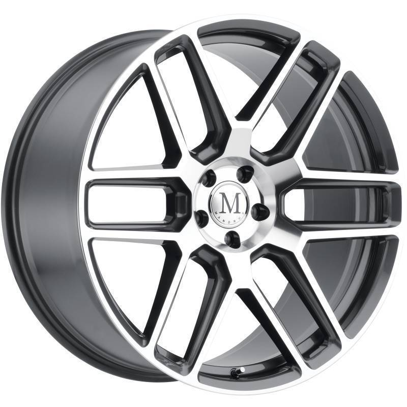Mandrus Otto Machine Gunmetal Wheels
