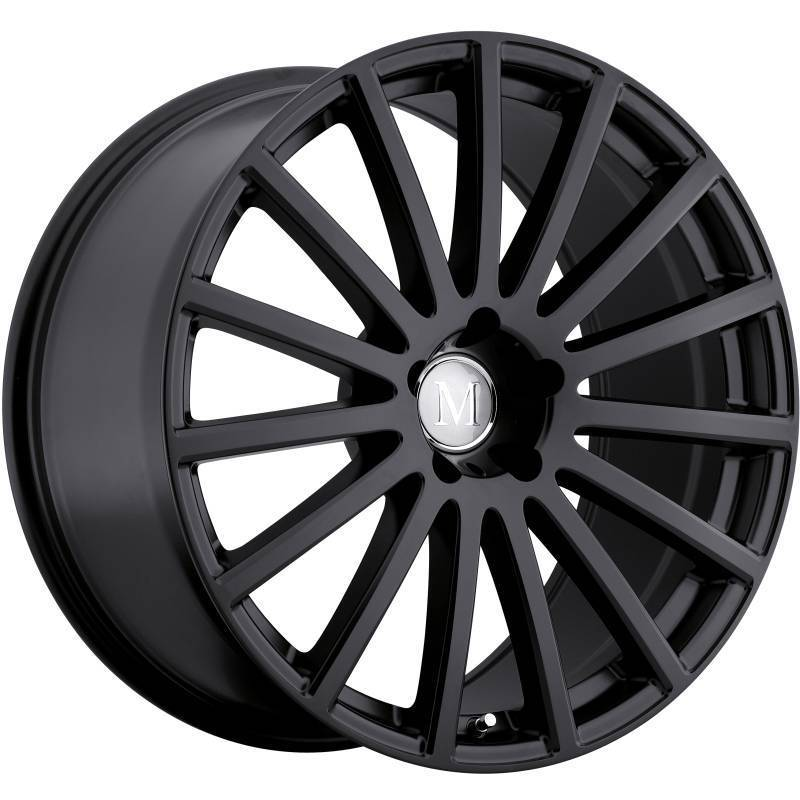 Mandrus Rotec Matte Black Wheels