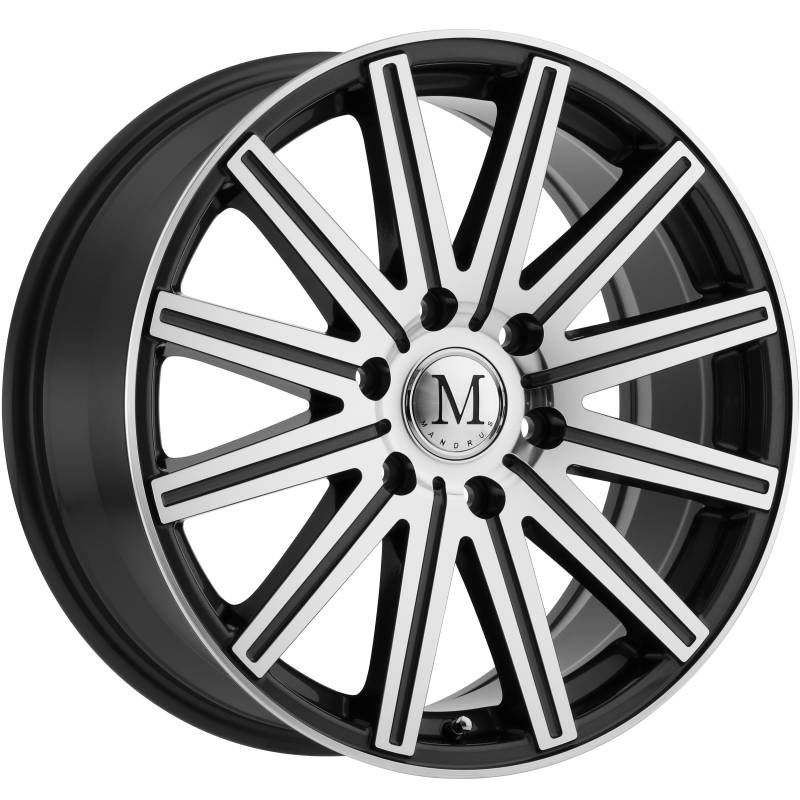 Mandrus Stark Machine Gunmetal Wheels