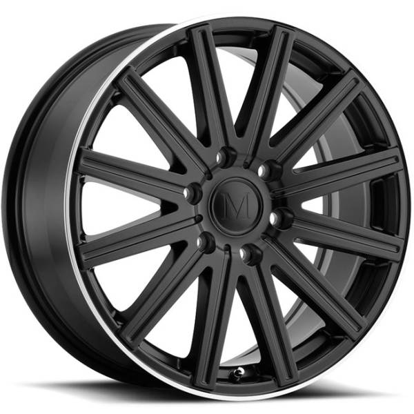 Mandrus Stark Matte Black Wheels