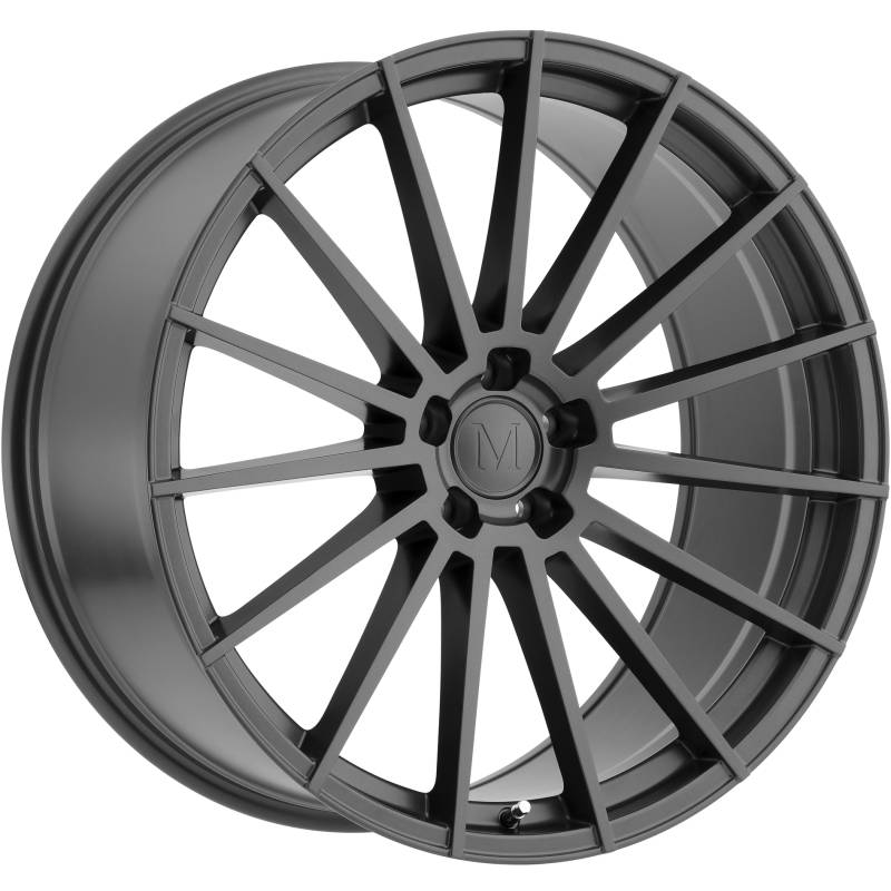 Mandrus Stirling Gloss Gunmetal Wheels
