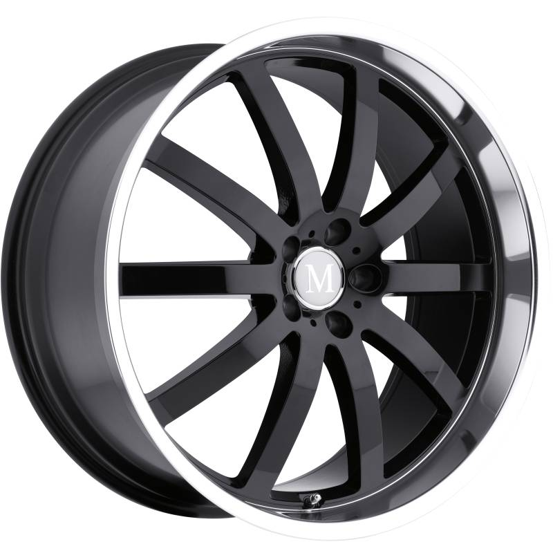 Mandrus Wilhelm Gloss Black Wheels