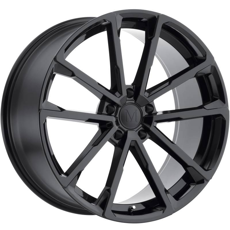 Mandrus Wolf Gloss Black Wheels