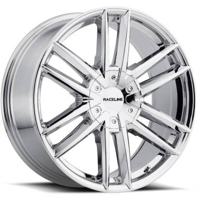 Raceline 158C Impulse Chrome Wheels