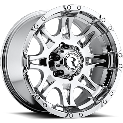 Raceline 983C Raptor Chrome Wheels