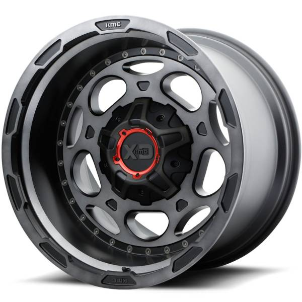 XD Series Wheels XD837 Demodog Satin Black with Grey Tint