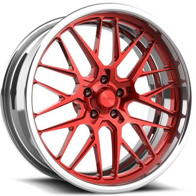 Schott Grid EXL s.Concave Red Polished