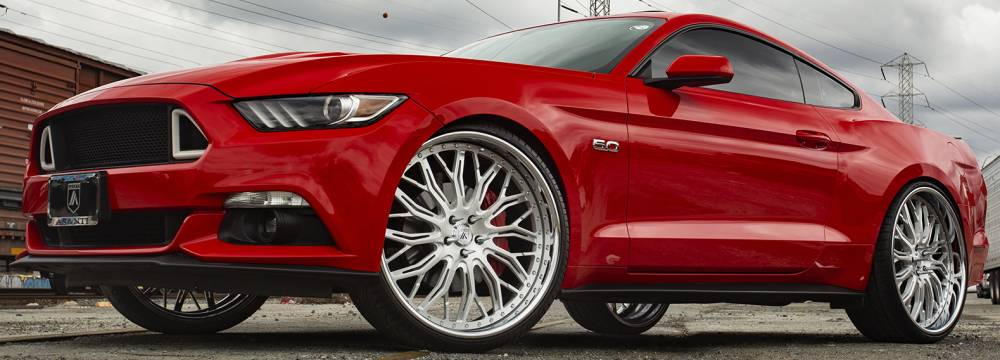 Asanti AF866 on Ford Mustang 5.0