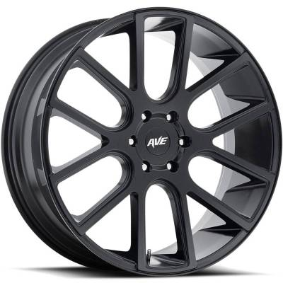 Avenue A614 Satin Black
