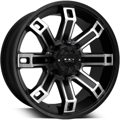 HD Off-Road Hollow Point Satin Black Machined