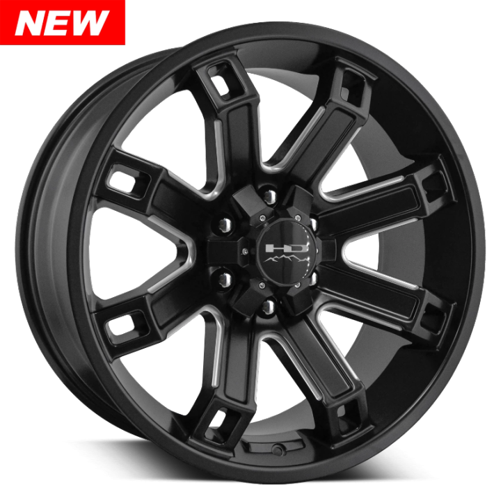 HD Off-Road Hollow Point Satin Black Milled