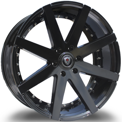 Marquee M3226-B Gloss Black Wheels
